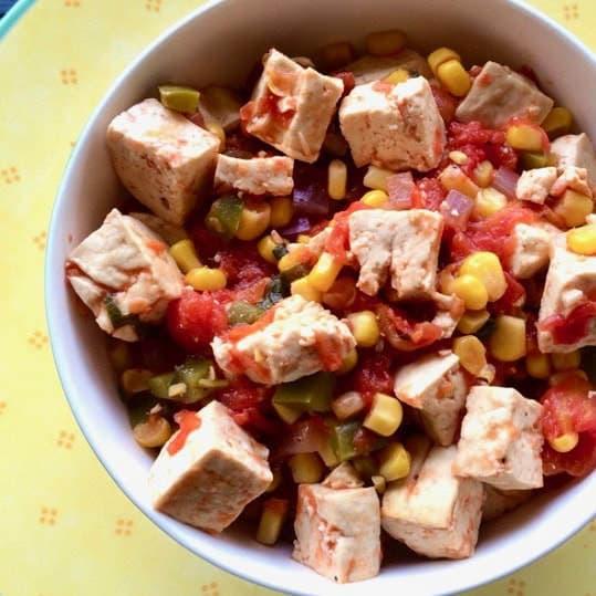 Healthy & Simple Southwest Tofu Bowl (Vegan, Gluten-Free, Oil-Free)