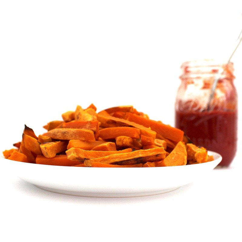 Perfect Sweet Potato Fries! (Oil-Free, Vegan, Gluten-Free, Paleo)