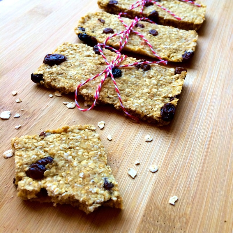 Easy Homemade Granola Bars (Vegan, Gluten-Free, Oil-Free, No Added Sugar)
