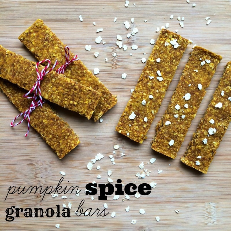 how to make granola bars, pumpkin spice granola bars, vegan granola bars, homemade granola bars, healthy granola bars, pumpkin granola bars, quick oats recipe