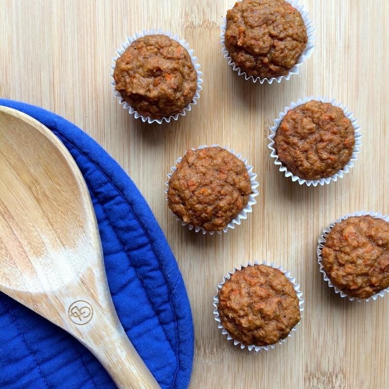 vegan carrot cake muffins, vegetarian carrot muffins, healthy carrot cake
