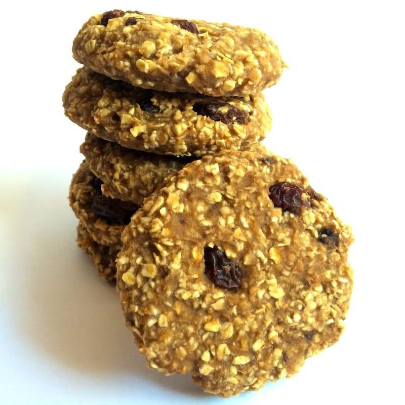 healthy oatmeal raisin cookies, vegan oatmeal raisin cookies, gluten-free oatmeal raisin cookies, easy oatmeal raisin cookies