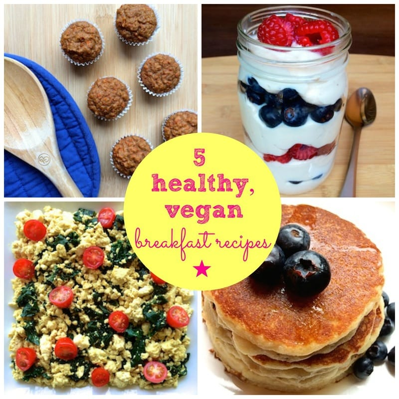 vegan breakfast recipes, easy vegan breakfast, vegan yogurt, vegan muffins, vegan tofu scramble, vegan pancakes, gluten-free pancakes, healthy muffin recipe, healthy yogurt recipe, homemade yogurt, gluten-free yogurt