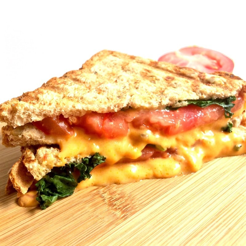 Easy Vegan Grilled Cheese (Gluten-Free)