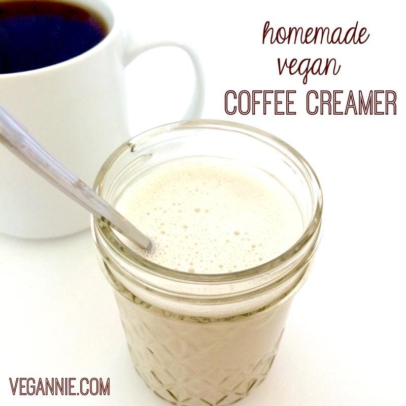 Homemade Vegan Vanilla Coffee Creamer