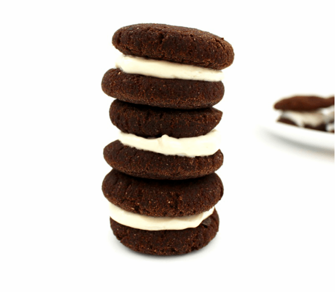 Healthy Vegan Whoopie Pies (Sugar-Free, Low-Fat, Oil-Free)