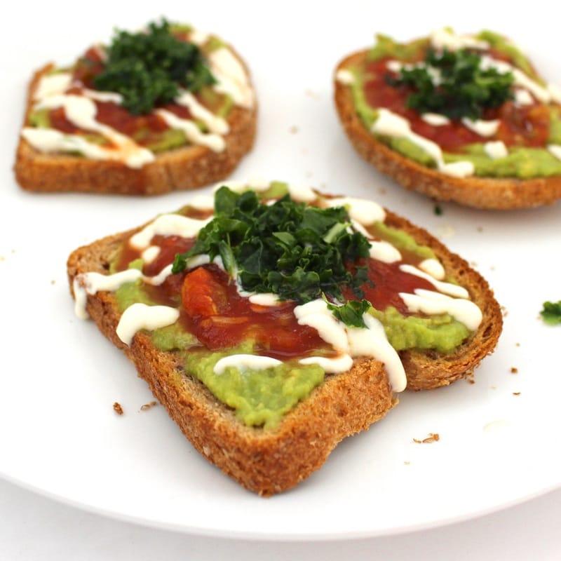 Quick & Simple Avocado Toast (Vegan, Gluten-Free, Oil-Free)