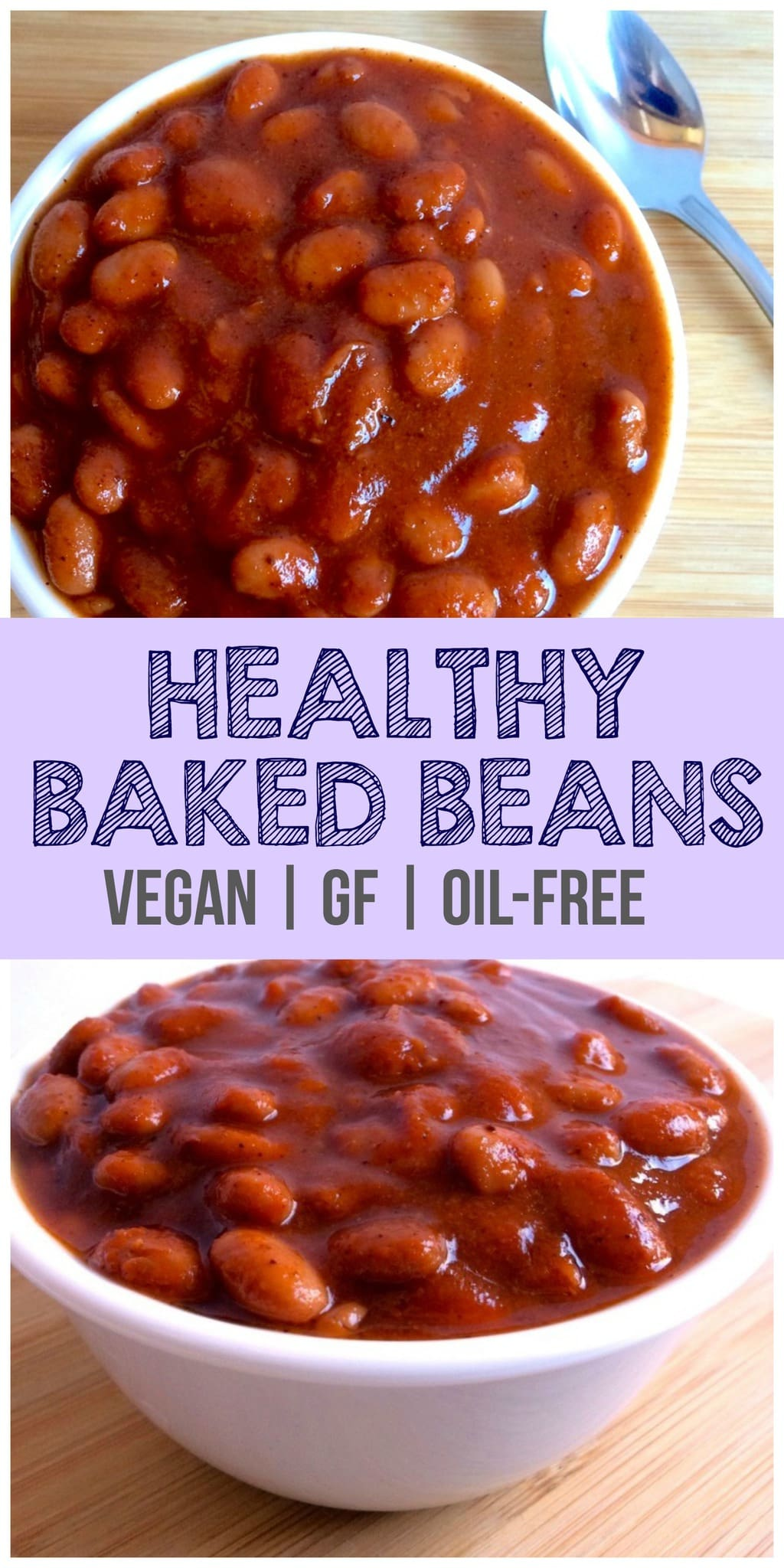 These Vegan Baked Beans are absolutely delicious!! They taste just like Bush's, but are way better for you. They are gluten-free, low-calorie, low-carb, dairy-free, and sugar-free. Sure to be loved by the whole family!