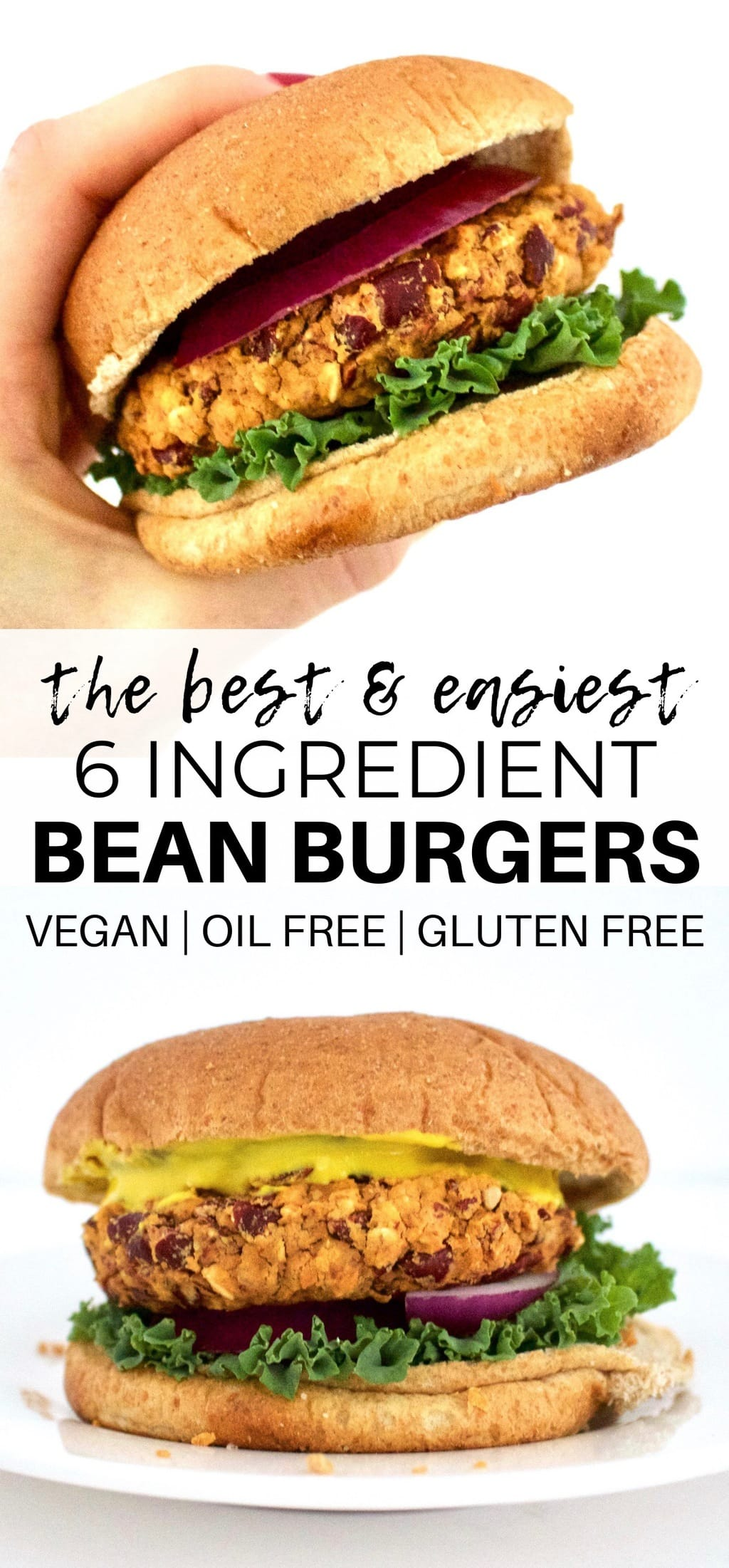 Kidney Bean Burgers Vegan Gluten Free Low Fat