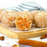 Healthy Carrot Cake Bites