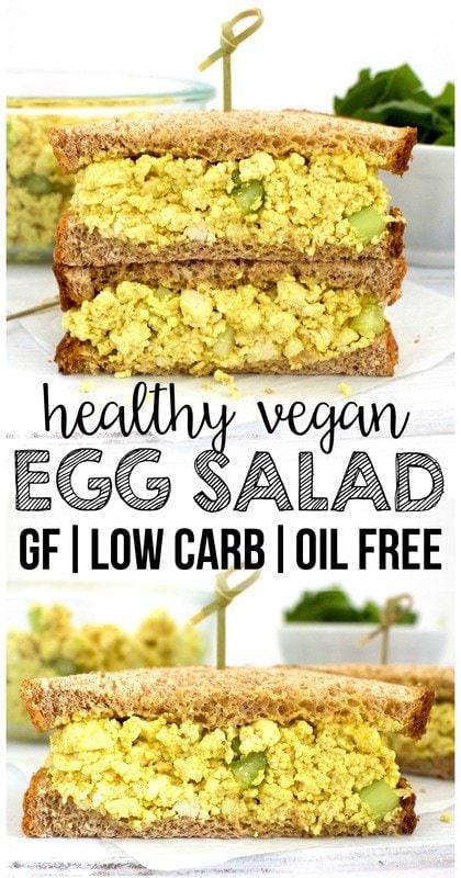 Vegan Egg Salad (Low Carb, Gluten-Free, Oil-Free!)