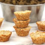 Coconut Oatmeal Pupcake Dog Treats