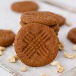 Keto Vegan Peanut Butter Protein Cookies