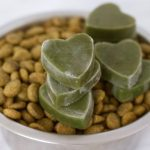 3 Ingredient Green Smoothie Bites - the perfect, easy & healthy dog treat! Vegan, gluten-free, oil-free & no added sugar.