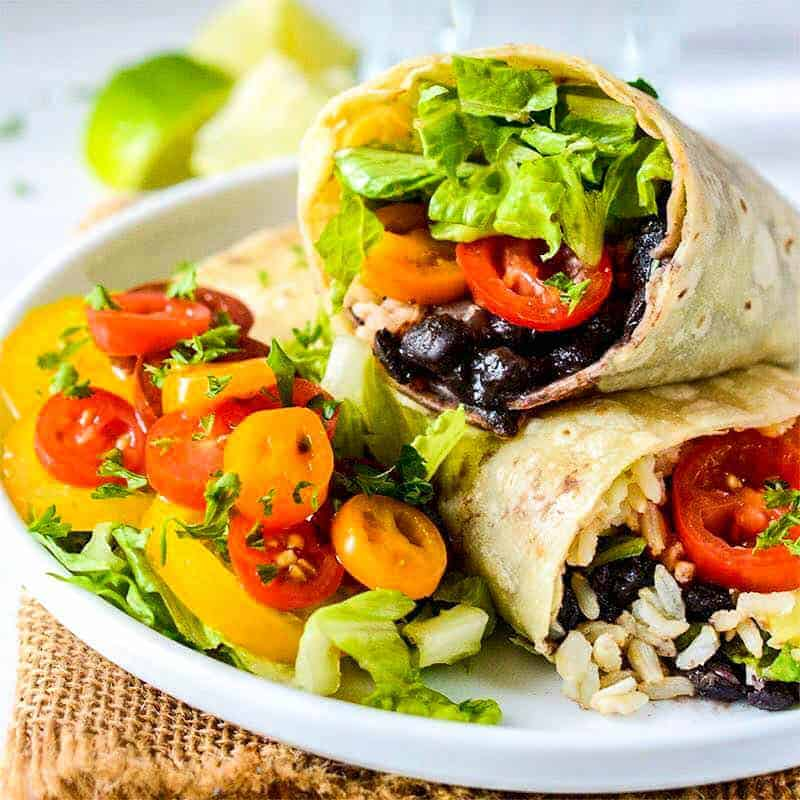 The Top 10 Vegan Recipes for Weight Loss! All recipes are gluten-free & low-calorie – under 350 calories each! These recipes will help you lose weight in a delicious, healthy & satisfying way.