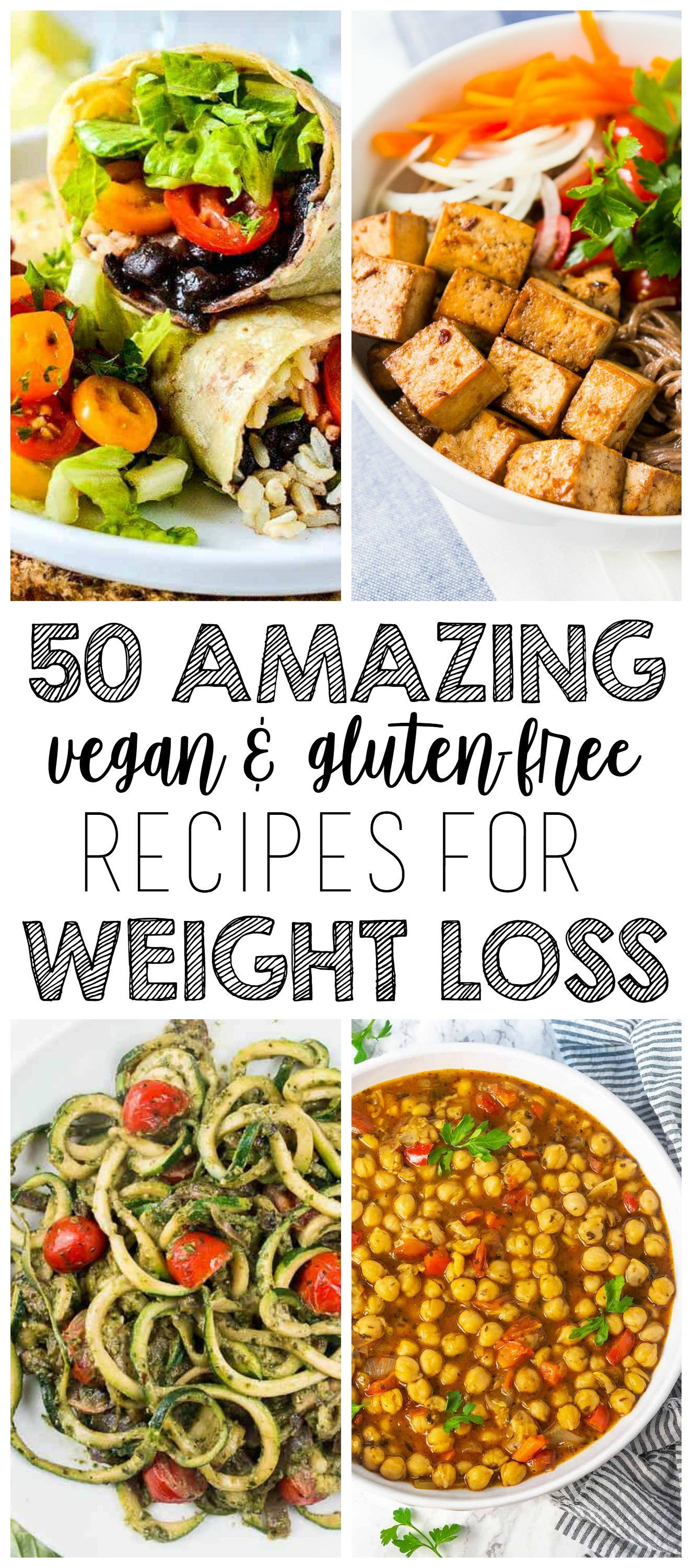 50 AMAZING Vegan Meals for Weight Loss (Gluten-Free & Low-Calorie)