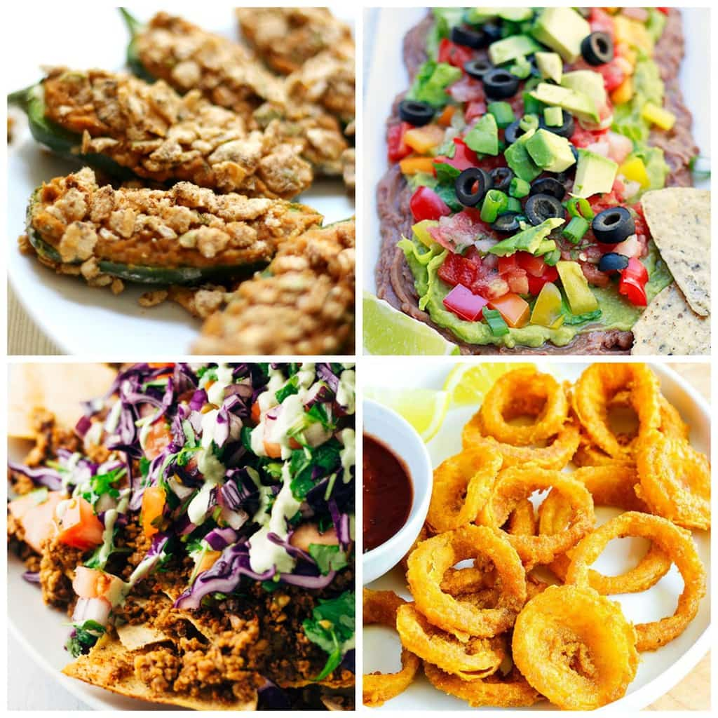 Here is an AMAZING collection of over 40 DELICIOUS Vegan & Gluten-Free Super Bowl Recipes! They're all super easy to make and perfect for yourgame day festivities.