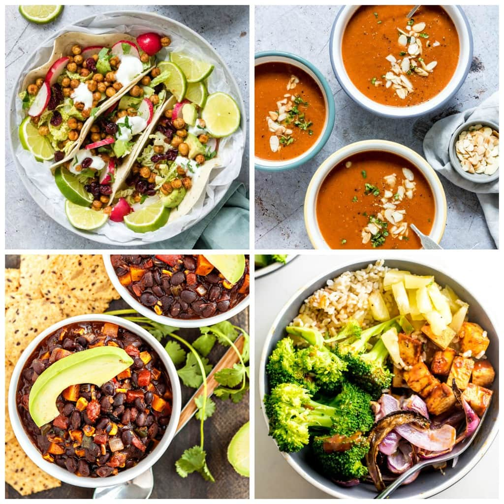 50+ Vegan & Gluten-Free Dinner Recipes Ready in 30 Minutes or Less