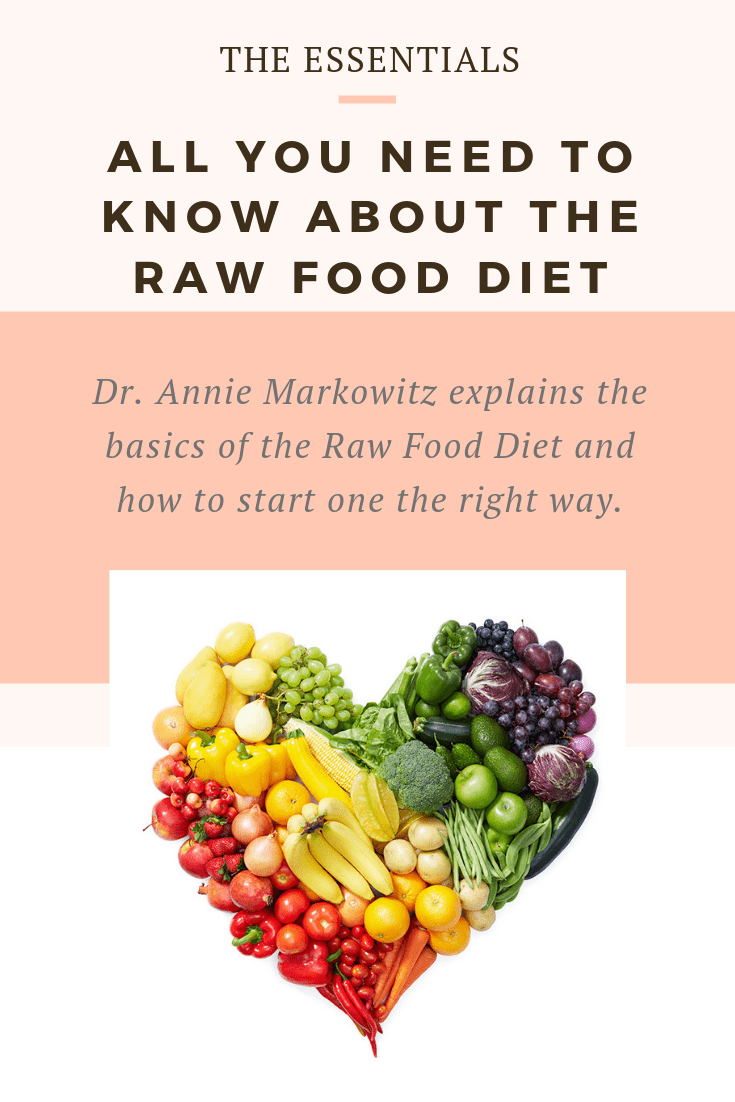 The Raw Food Diet Essentials: All you need to know about the Raw Food Diet!