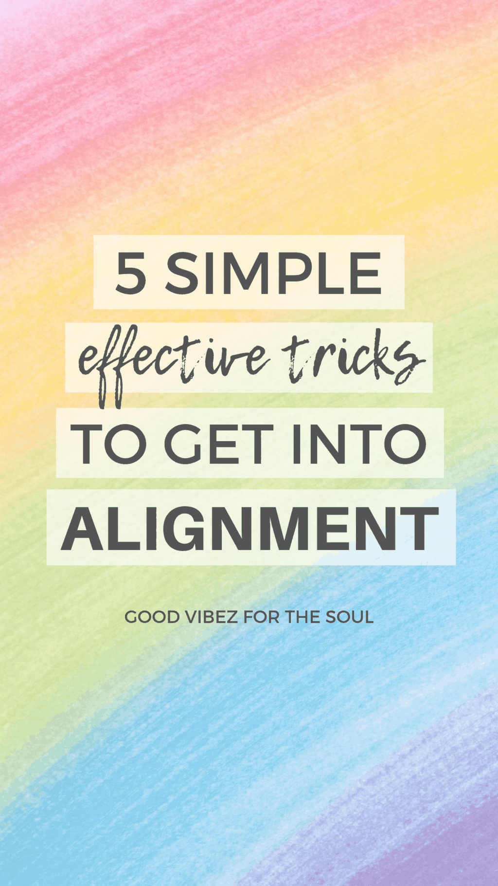 Discover all you need to know to get back into alignment when you've slipped out! Here are my 5 favorite fool-proof methods (and 3 things you MUST avoid).