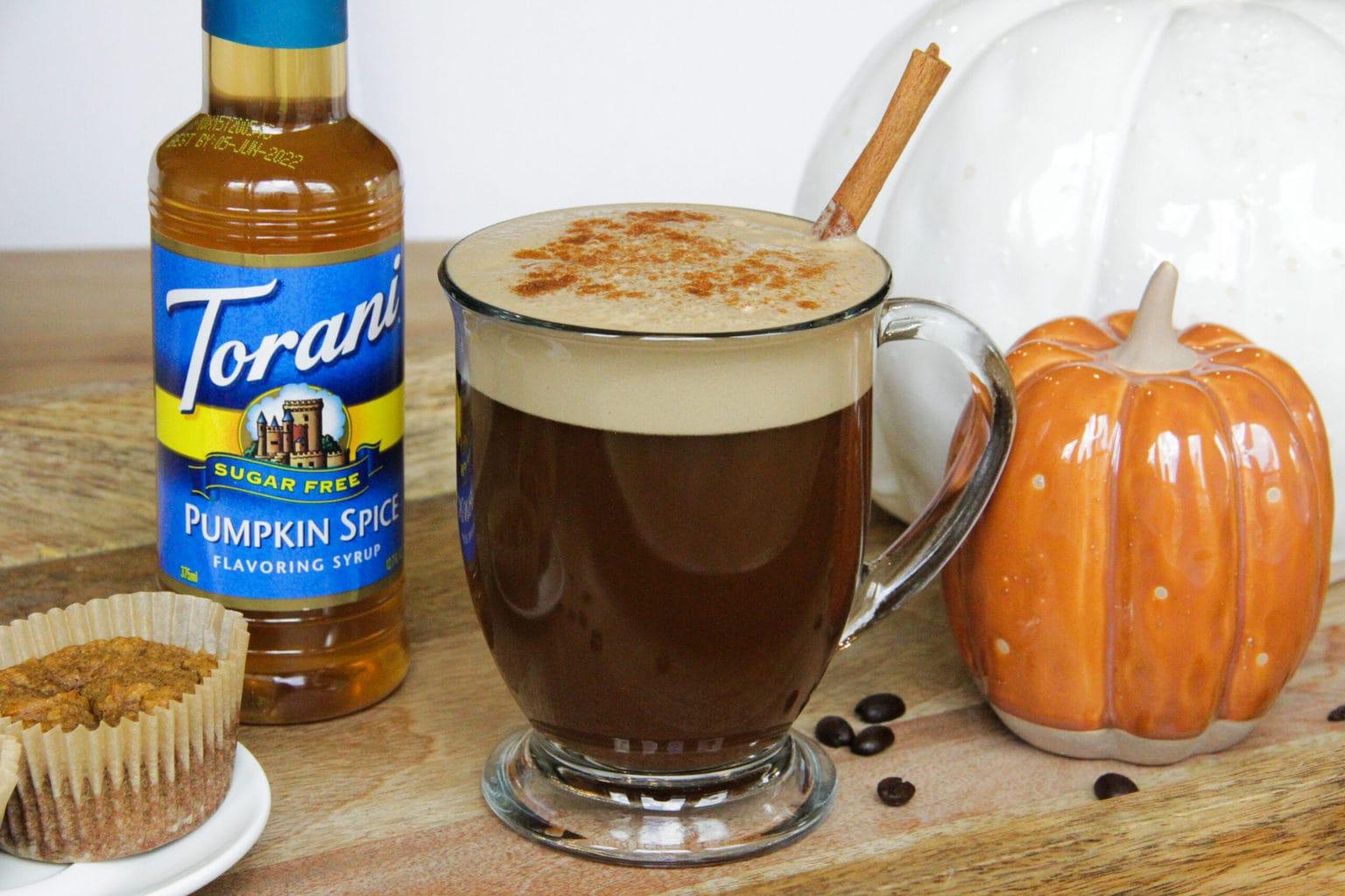 Vegan Keto Pumpkin Spice Latte