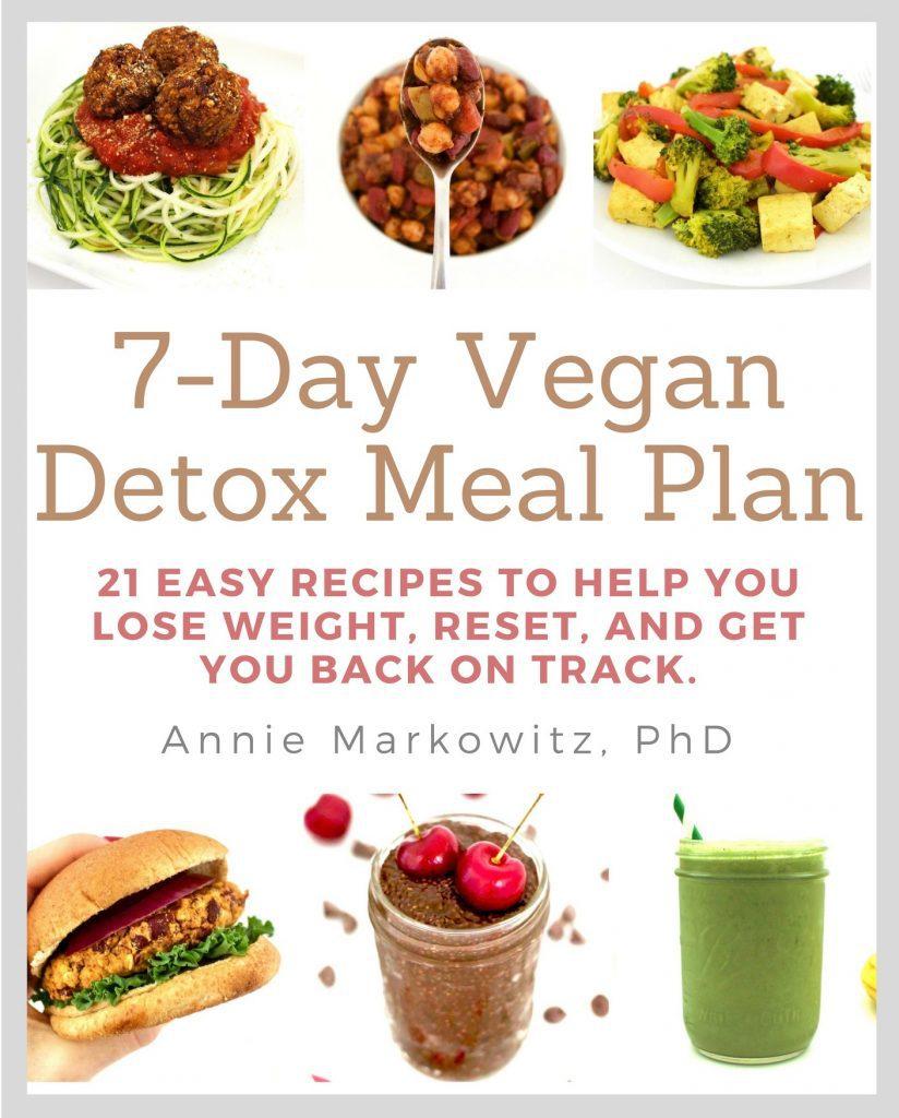Vegan Detox Meal Plan for Weight Loss (Gluten-Free + Sugar ...