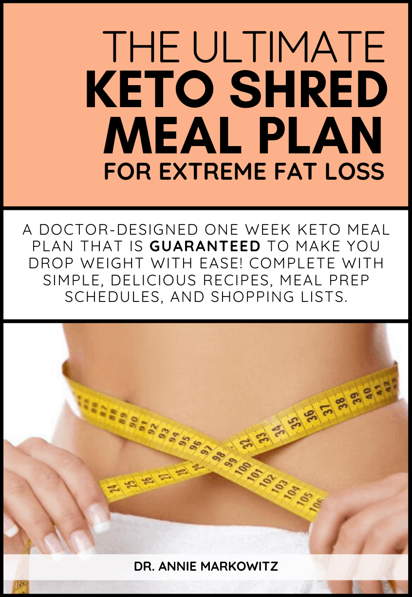 A Doctor-Designed, one-week keto meal plan for extreme fat loss that guaranteed to make you lose weight and achieve your health goals! Complete with simple & delicious recipes, grocery lists, and meal prep schedules.